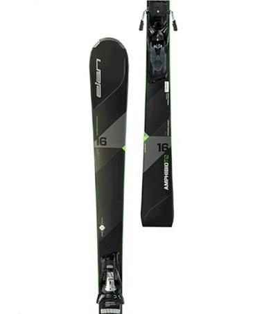 Elan Amphibio 16 TI2 Fusion Kayak + ELX 12.0 Bağlama Siyah